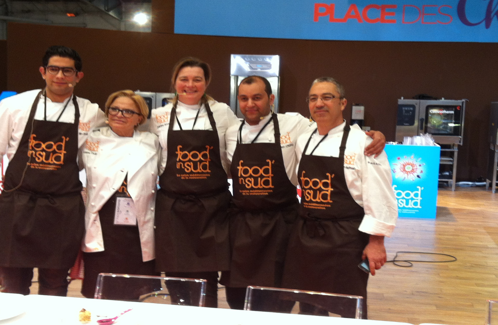 slim ben chahla au salon food'in sud 2016